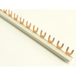 Szyna 1-fazowa, widełkowa, 10mm2, długość 101,6cm