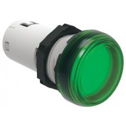 Lampka LED kolor zielony 230VAC